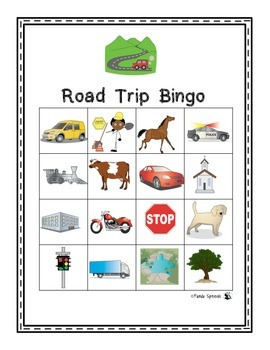 Road Trip Speech and Language Pack! Encourage Skills on the Go!