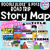 Road Trip Story Map ~Story Elements; Posters, Bulletin Boa