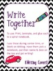 Road Trip Theme Shared Writing Journal Covers