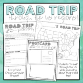 Road Trip Through the US Regions Project