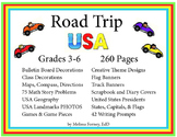 Road Trip USA: Thematic Classroom Unit