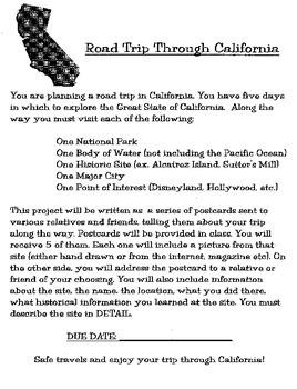 Road Trip through California