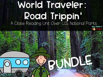 Road Trippin' Bundle: 8 close reads over the U.S. National Parks