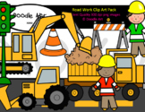 Road Work Clip Art Pack