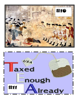Road to American Revolution in Pictures