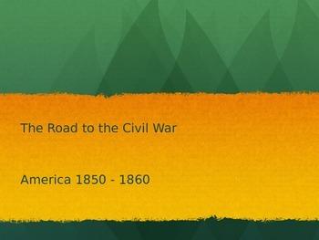 Road to Civil War - Antebellum South (CCSS 5.1)