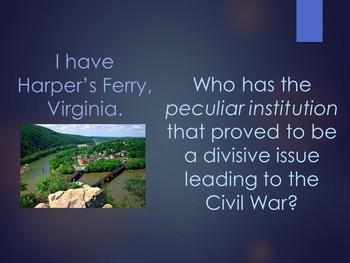 Road to Civil War Loop Cards