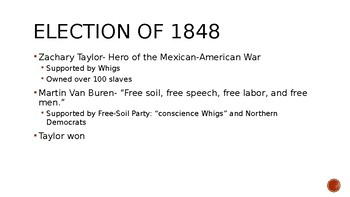 Road to Civil War PowerPoint & Guided Notes