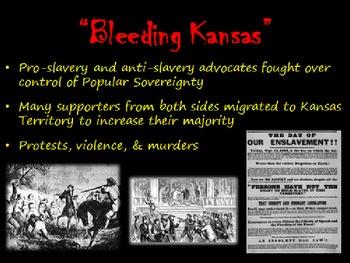 Road to Civil War:  Slavery Compromises SMART/PPT lesson