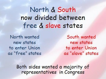 Road to Civil War:  Slavery Compromises SMART/PPT lesson