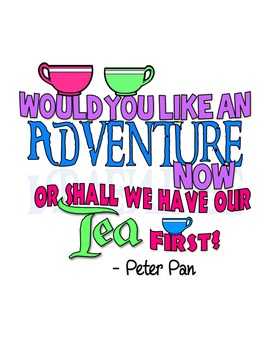 Peter Pan Quote Printable