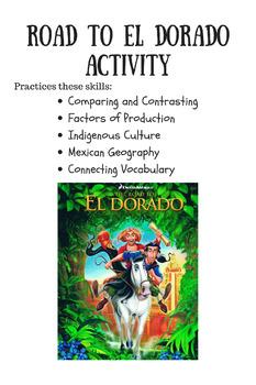 Road to El Dorado Activity
