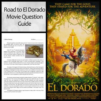 Road to El Dorado Movie Question Guide and Reading