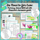 Road to Jim Crow: Primary Source DBQ Set w/ Guided Discuss