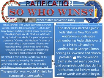 Road to Ratification of the United States Constitution