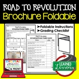 Road to Revolution Activity, Road to Revolution Foldable