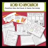 Road to Revolution BUNDLE- Disagreements w/ Great Britain