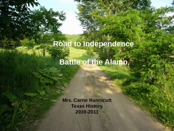 Road to Revolution - Battle of the Alamo