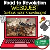 Road to Revolution Digital Escape Room, Road to Revolution