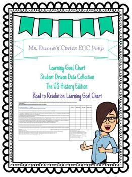 Road to Revolution Learning Goal Chart