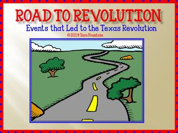 road to revolution power point texas history by social studies chick. Black Bedroom Furniture Sets. Home Design Ideas