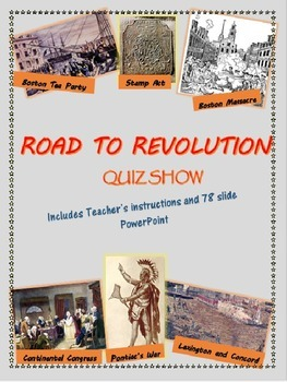 Road to Revolution Quiz Show PowerPoint