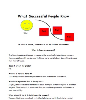 Road to Success-Prep for Iowa Assessment or Big State Test