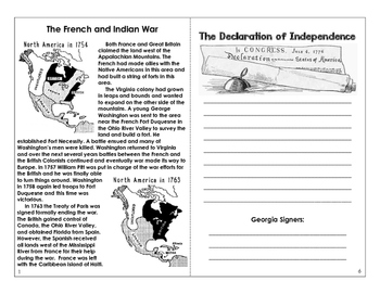 Road to War- Booklet for the Revolutionary War