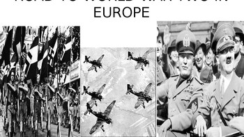 Road to World War Two in Europe