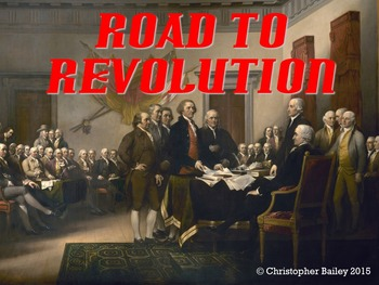 Road to the American Revolution-PowerPoint