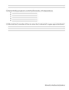 Road to the American Revolution Test