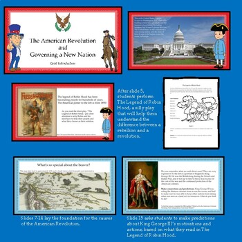 Road to the American Revolution Unit w/DBQ, Interactive Notebooks and More!