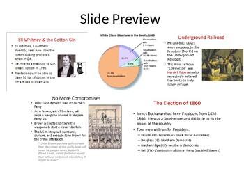 Ch 8-9 Road to the Civil War (Florida US EOC)