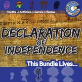 Declaration of Independence -- U.S. History Curriculum Unit Bundle