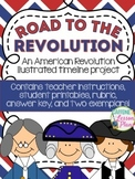 Road to the Revolution: An Illustrated Revolutionary War Timeline Project