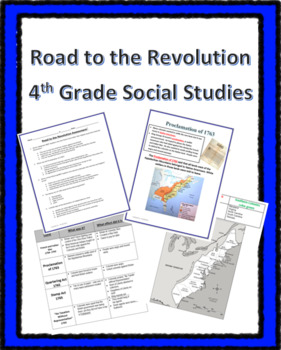 Road to the Revolution Bundle -4th Grade SS