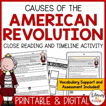 Road to the Revolution Close Reading