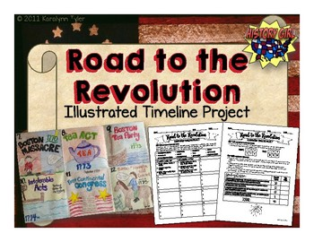 Road to the Revolution Illustrated Timeline Project