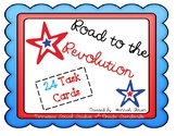 Road to the Revolution Task Cards - 4th Grade Tennessee Social Studies Standards