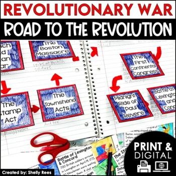 Revolutionary War - American Revolution Causes - Interacti