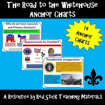 Road to the White House American History Anchor Charts