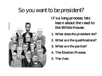 Road to the Whitehouse - Teaching Elections