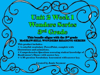 Roadrunner's Dance-McGRAW-HILL Wonders (Unit 2 Week 1 Bundle)
