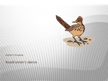 Roadrunner's Dance PowerPoint - 4th Grade Treasures