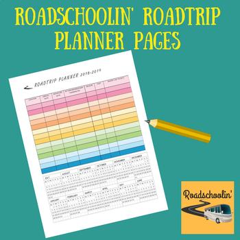 Roadschoolin' Roadtrip Planner