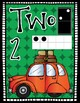 Number Posters Freebie {Kindergarten} Road Trip Theme