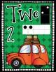 Number Posters Freebie {Kindergarten} Road Trip Theme