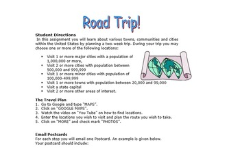 Roadtrip - Taking A Virtual Trip