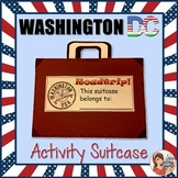 Washington DC Field Trip Activity Printable