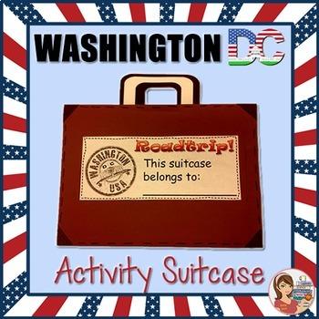 Washington DC Suitcase Activity Book